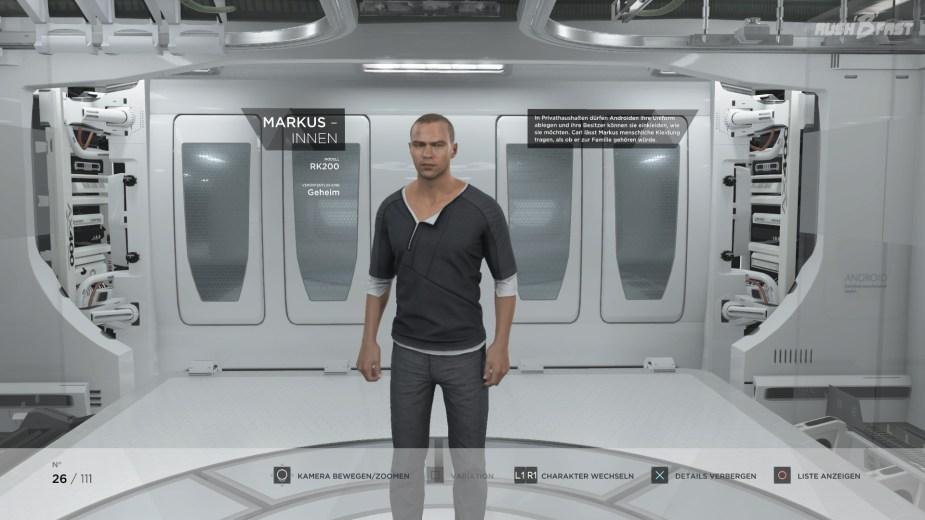 Detroit: Become Human - Markus - Modell: RK200