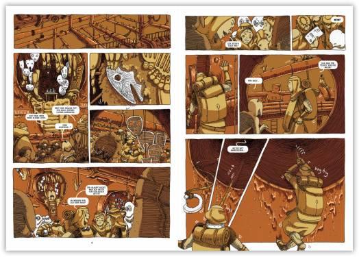 Quelle: Splitter Verlag - Comic: Grün - Band 1 (Leseprobe)