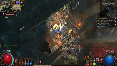 rushBfast Path of Exile Incursion Liga