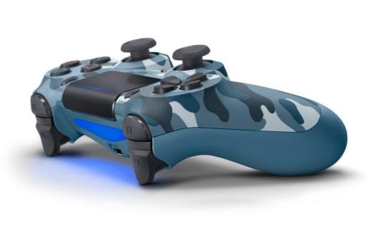 DUALSHOCK 4 Wireless-Controller - Blue Camouflage
