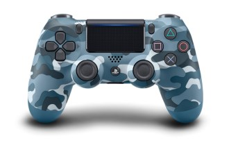 DUALSHOCK 4 Wireless-Controller - Blue Camouflage