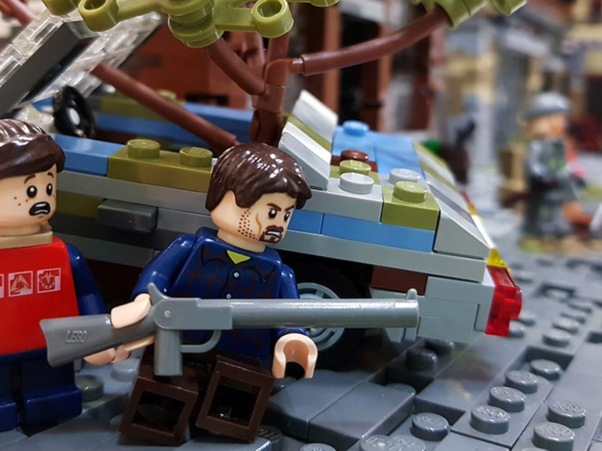 Quelle: flikr/Christophe - LEGO: The Last of Us - Hinterhalt