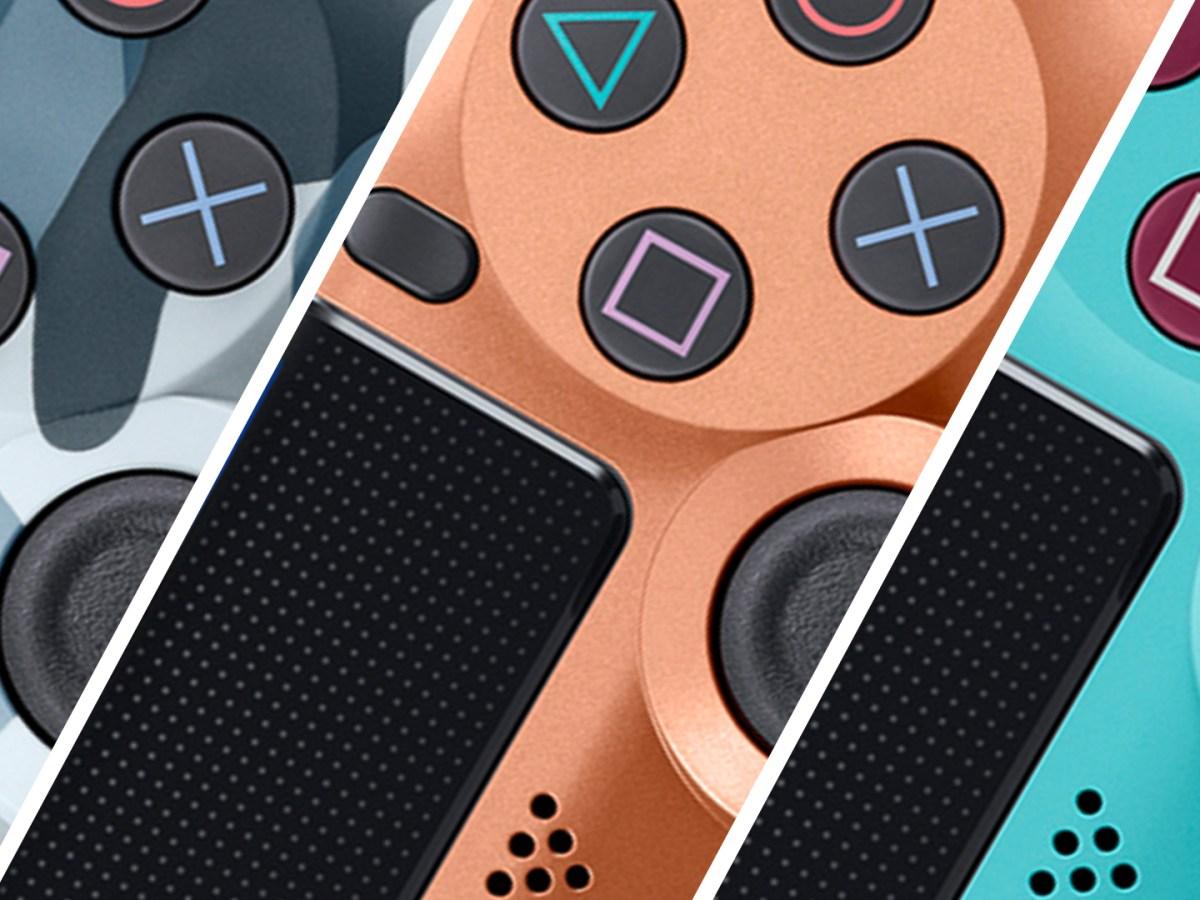 Playstation 4 Controller - Sondereditionen 2018