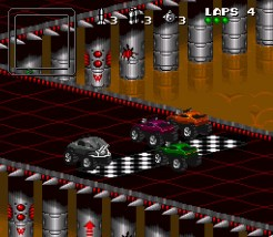 Blizzard Classic Arcade: Rock & Roll Racing - Rennen (Rookie)