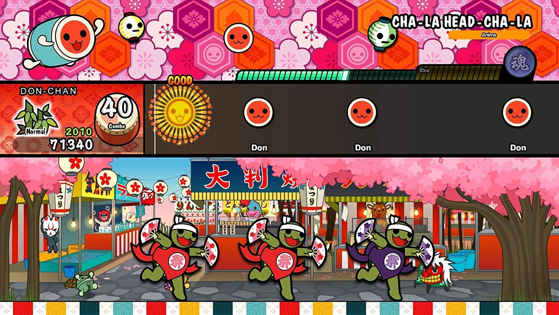 Taiko no Tatsujin: Drum 'n' Fun! - Singleplayer