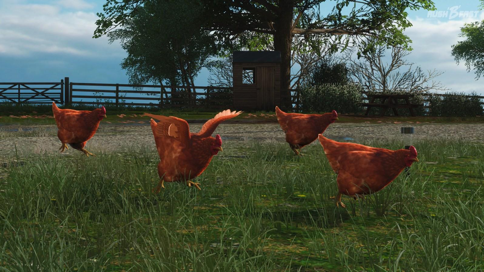 Forza Horizon 4 - Hühner
