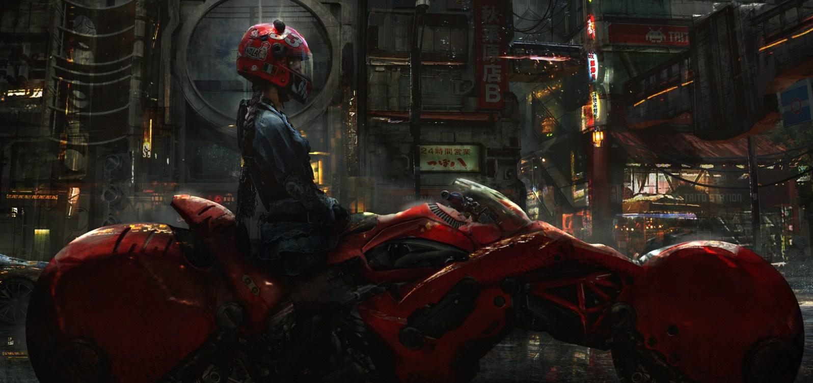 Eddie Mendoza - Biker Girl