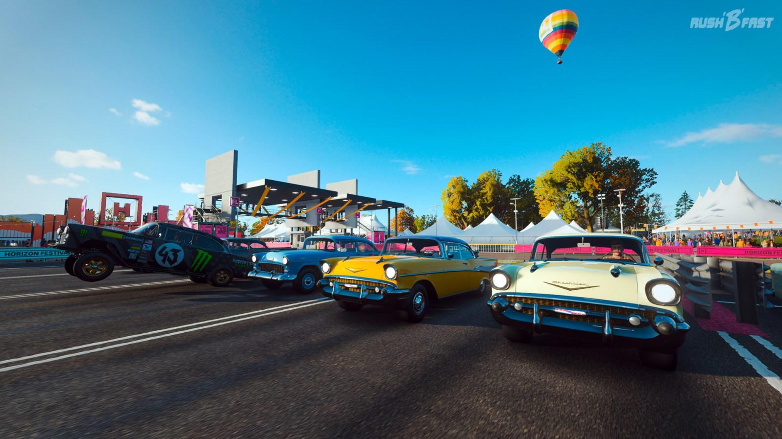 Forza Horizon 4 - Beschleunigungsrennen - Chevrolet Bel Air