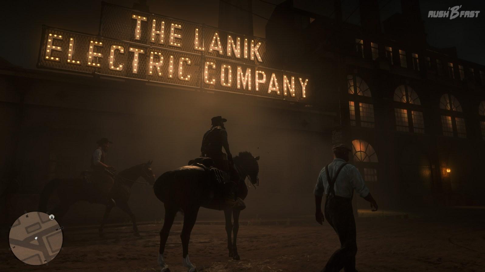 Red Dead Redemption 2: Im Wilden Westen um 1899 gibt es immer mehr durch Strom erzeugte Lichtquellen.
