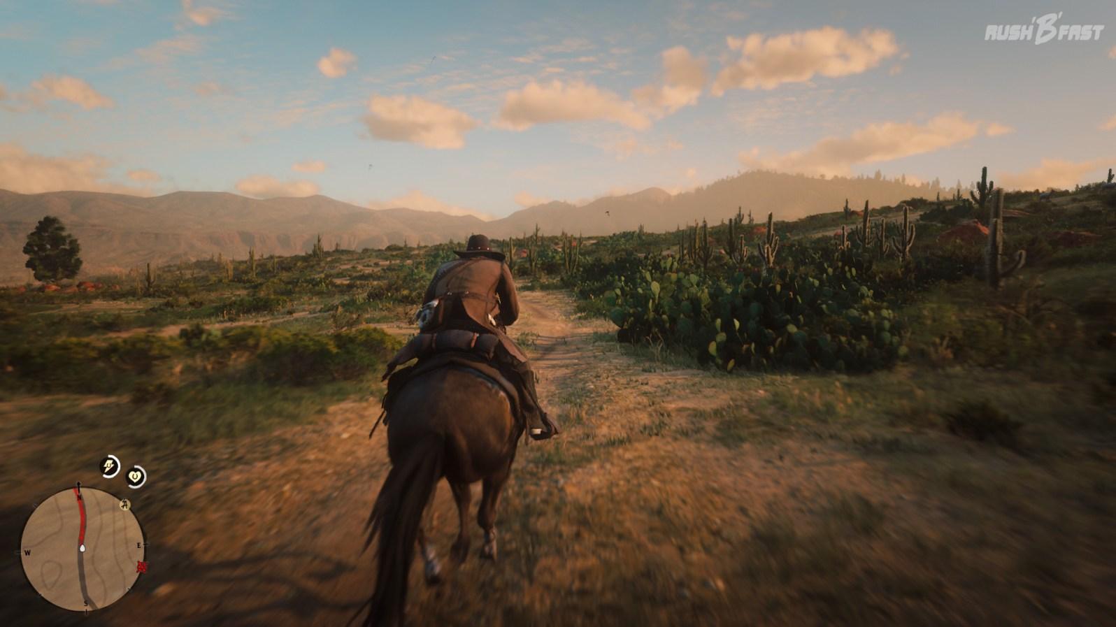 Red Dead Redemption 2: Die Wüste Richtung Mexico wird von der Del Lobo Gang kontrolliert.