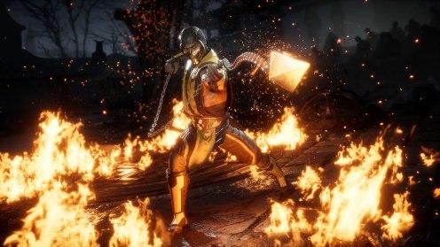 Quelle: Steam/NetherRealm Studios - Mortal Kombat 11 - Scorpio on fire