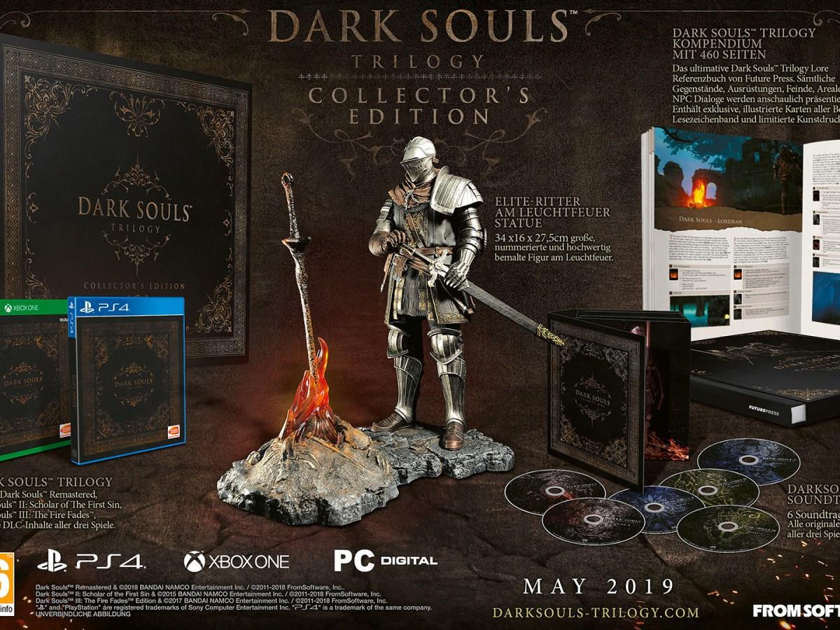 Quelle: Bandai Namco - Dark Souls Trilogy Collectors Edition (limitiert auf 2000 Exemplare)
