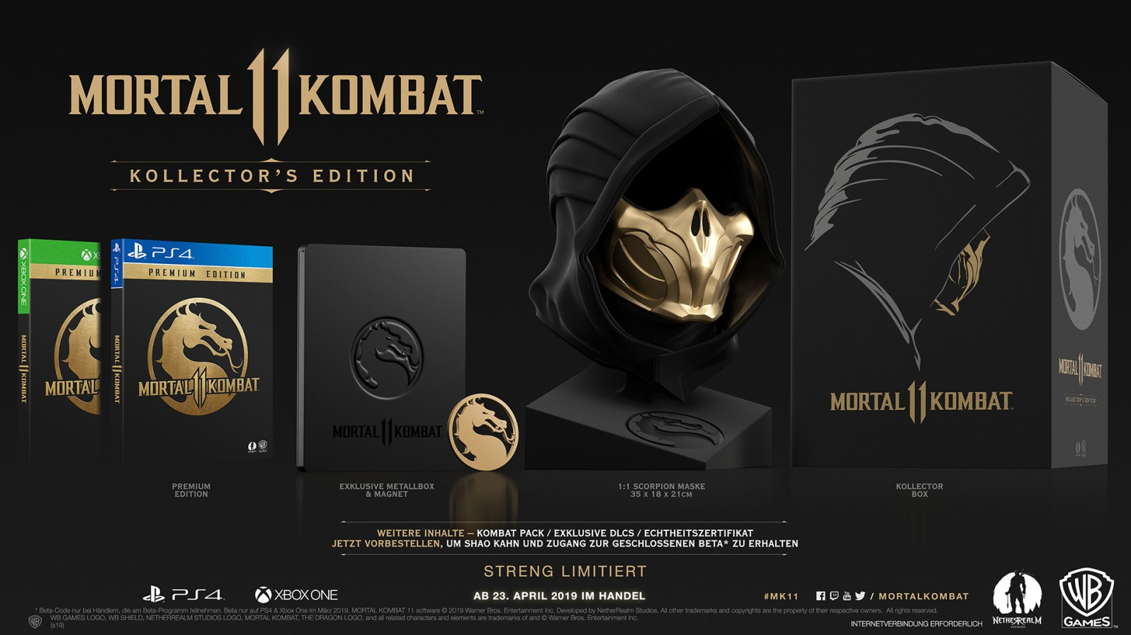 Quelle: Warner Bros. - Mortal Kombat 11 Kollector's Edition