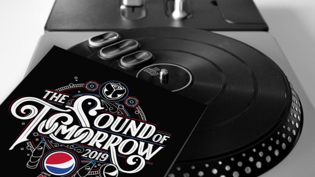 Foto: rush'B'fast, Plattencover: PEPSI MAX/mixcloud
