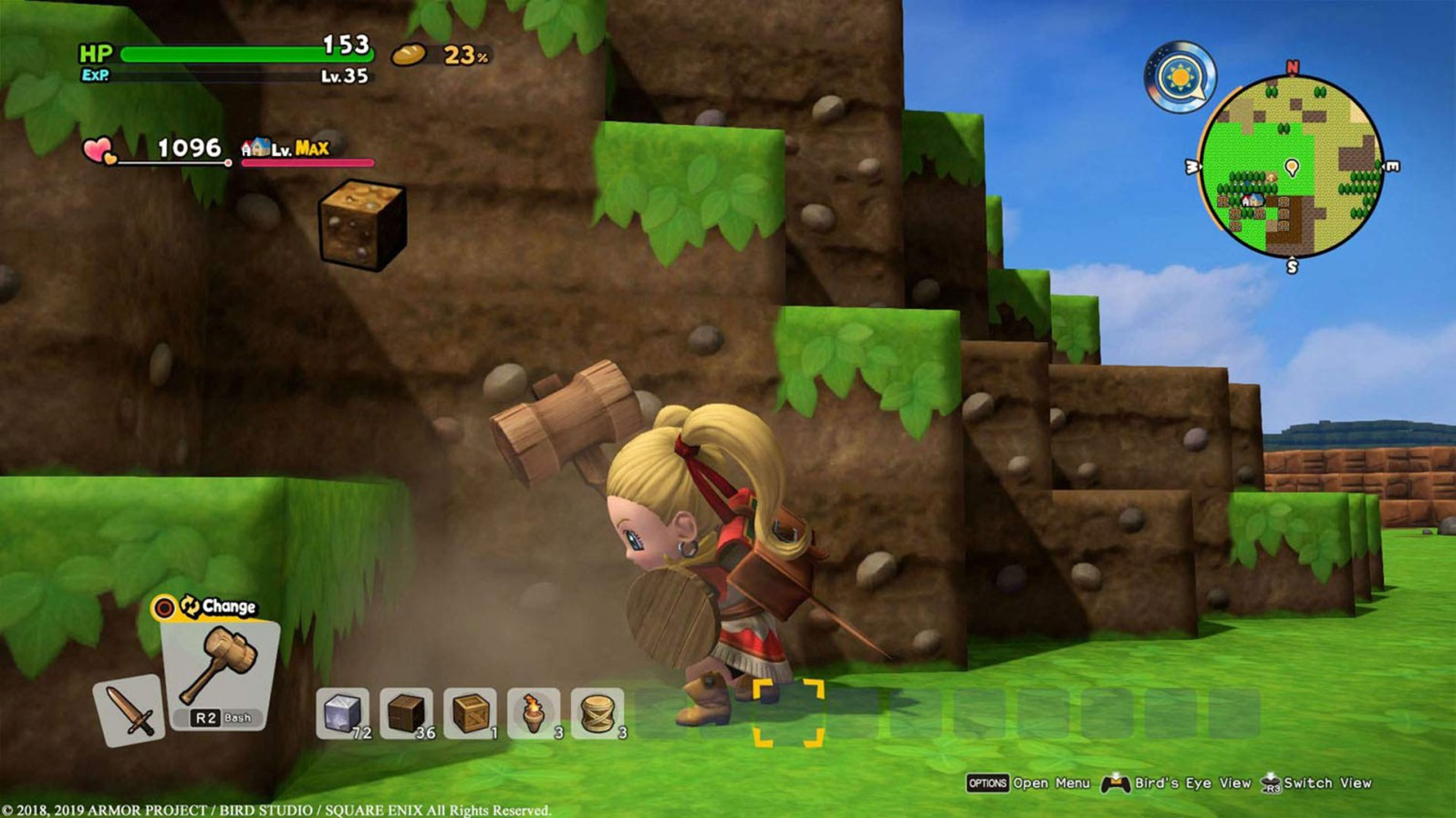 Quelle: Amazon - Dragon Quest Builders 2