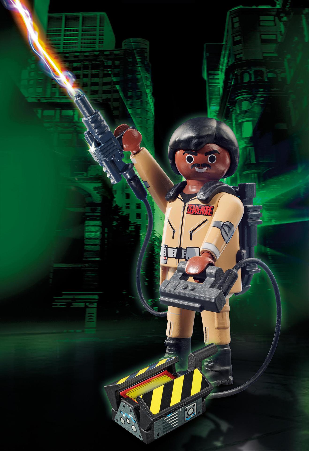 35 Jahre Ghostbusters - PLAYMOBIL_70171_Ghostbusters™ Sammlerfigur W. Zeddemore