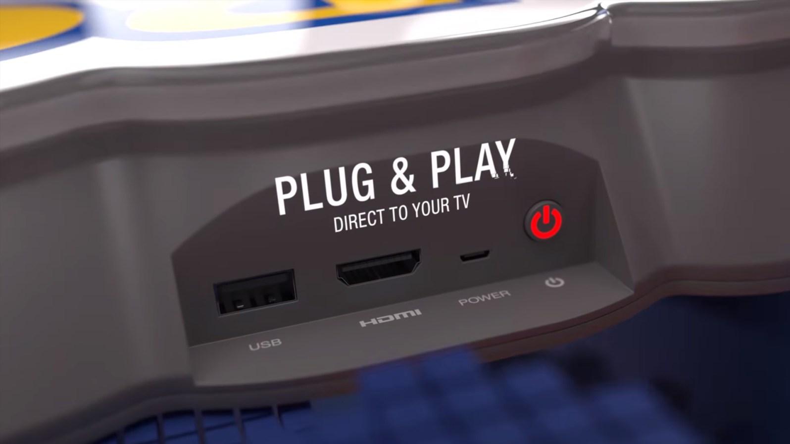 Quelle: Youtube - Capcom Home Arcade - Anschlüsse
