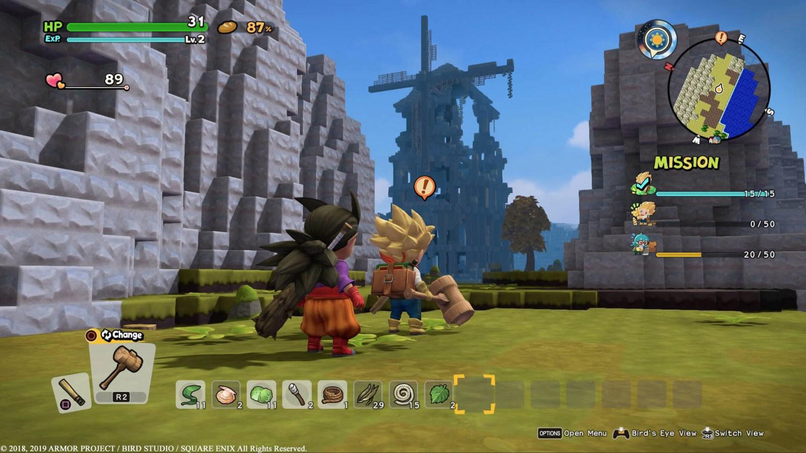 Quelle: Square Enix - Dragon Quest Builders 2 - Koop
