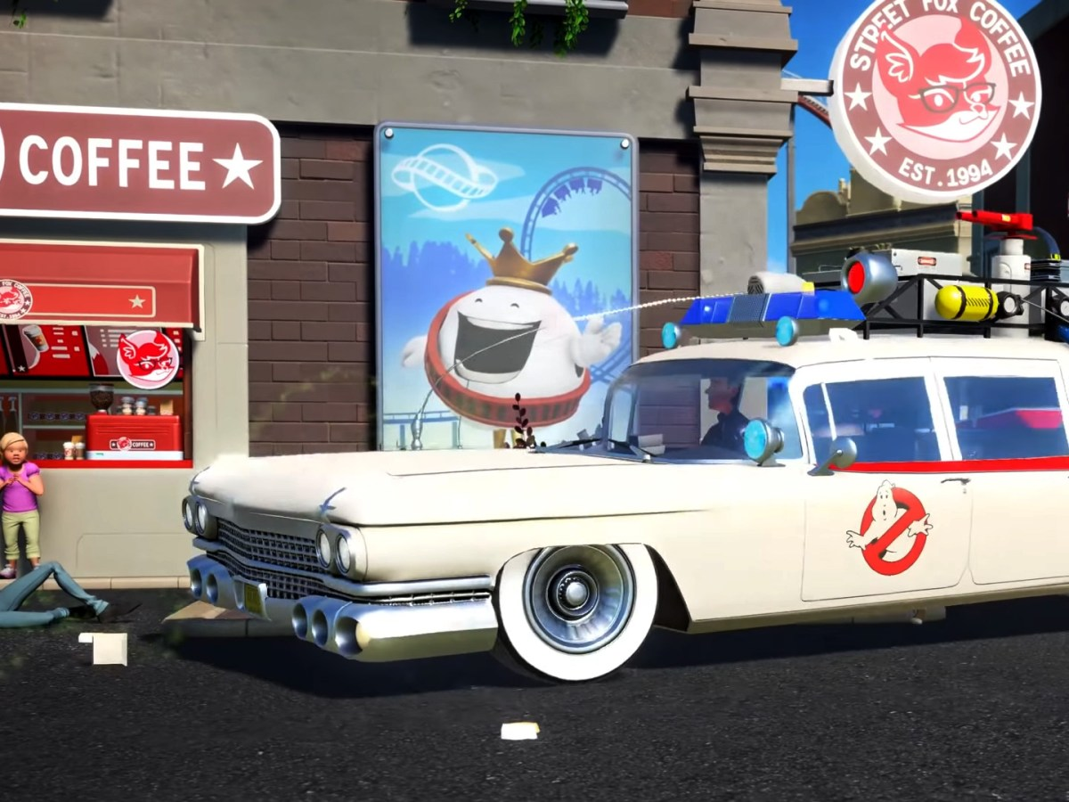 Quelle: Youtube/Planet Coaster - Ghostbusters
