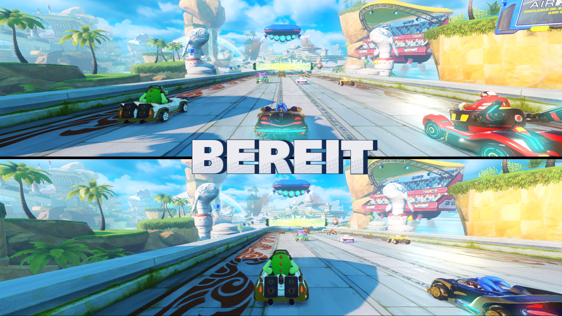 Perfektes Timing: Auch in Team Sonic Racing ist ein Schnellstart möglich - gleich geht es los!