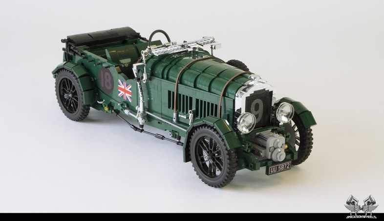 Quelle: flickr/Bricksonwheels - 1930 Bentley Blower