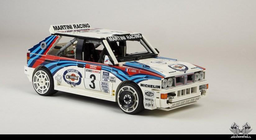 Quelle: flickr/Bricksonwheels - Lancia Delta HF Integrale EVO (1992)