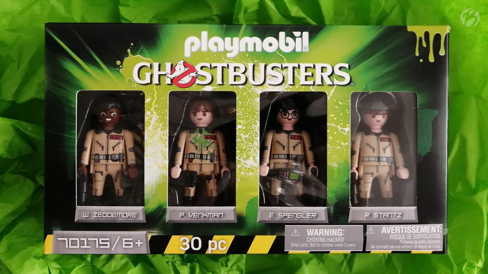 Dank dem neuen Ghostbusters-Figurenset von Playmobil, bekommt man jetzt auch die komplette Crew zum Ecto-1.