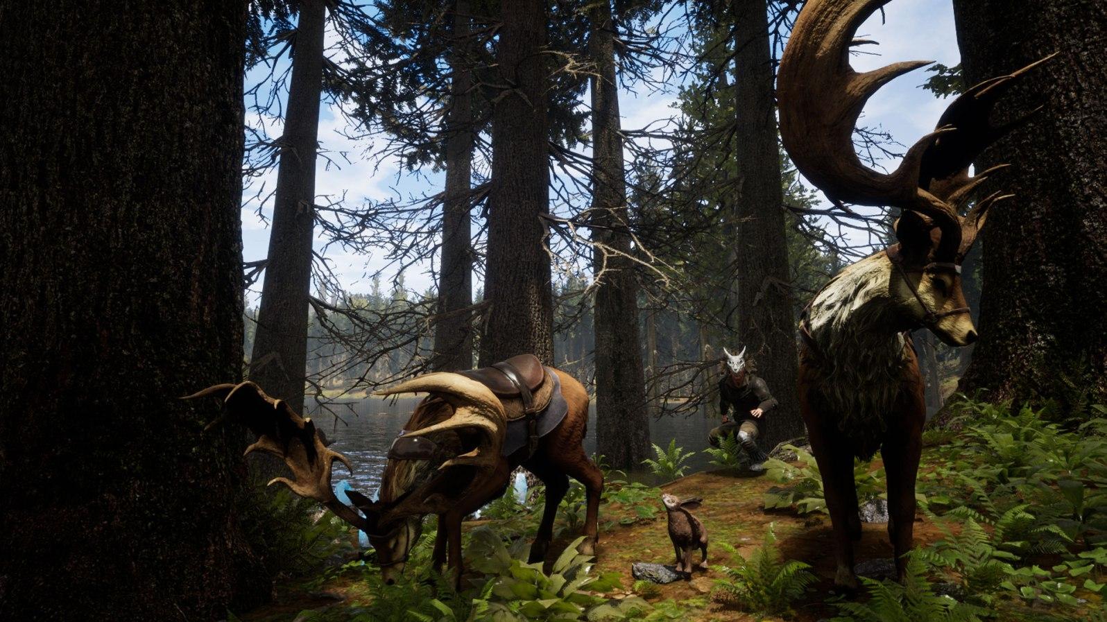 Solche stimmigen Aufnahmen aus dem Spiel lassen einen sofort in die gelungene Fantasywelt eintauchen.