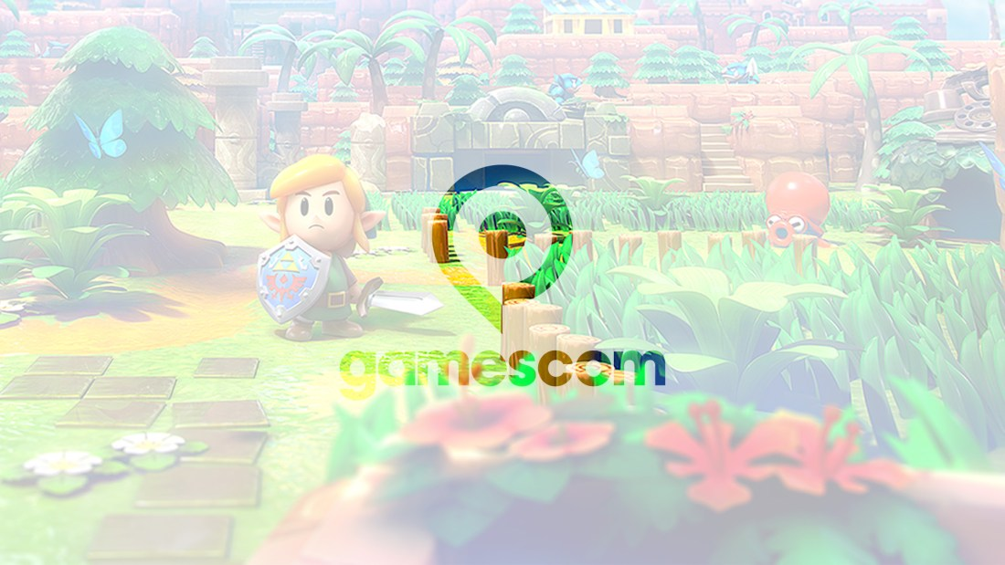 Quelle: Logo: gamescom, Messe Köln / Artwork: Nintendo