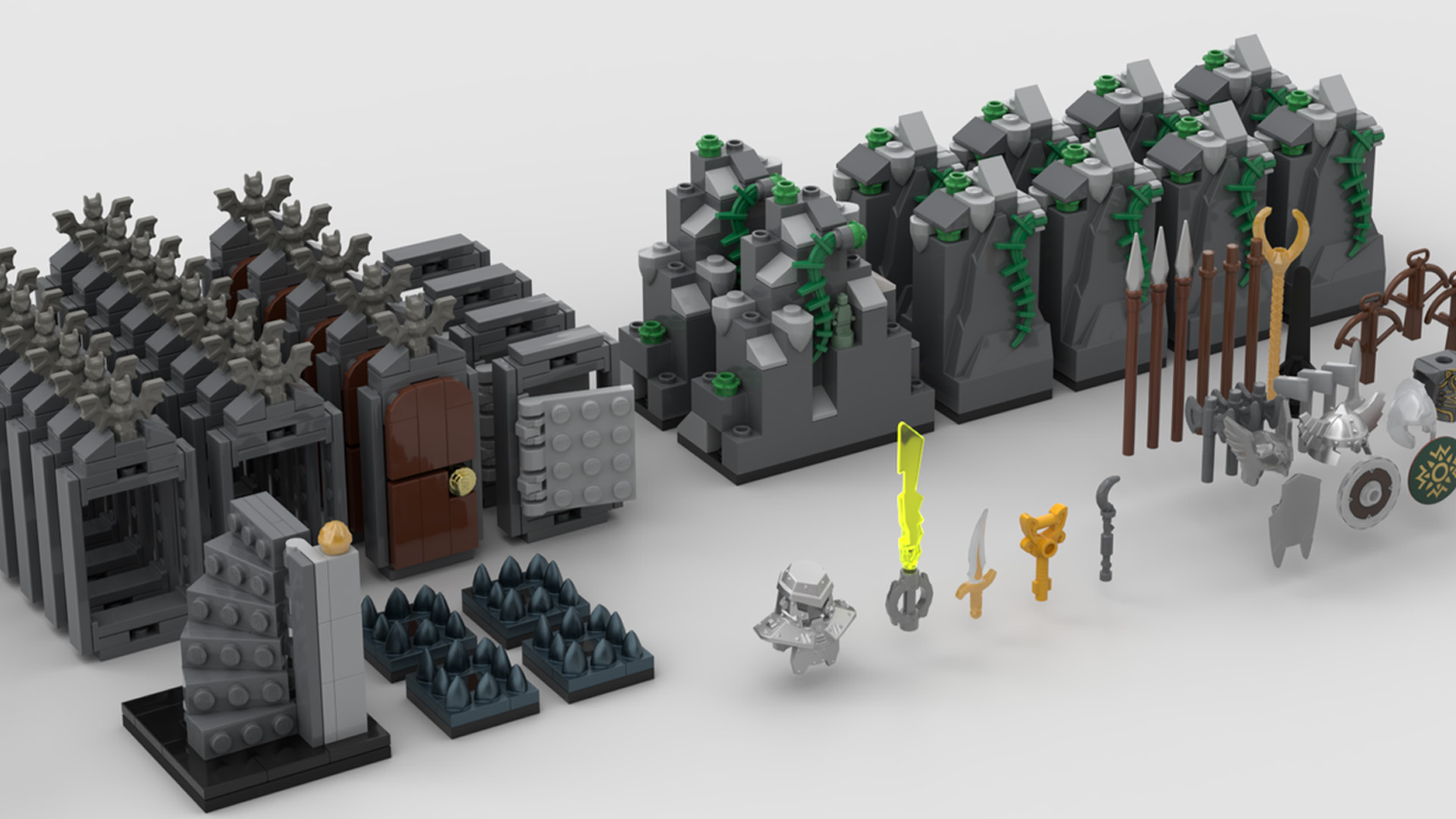 Quelle: LEGO IDEAS - Hero Quest - Spielelemente