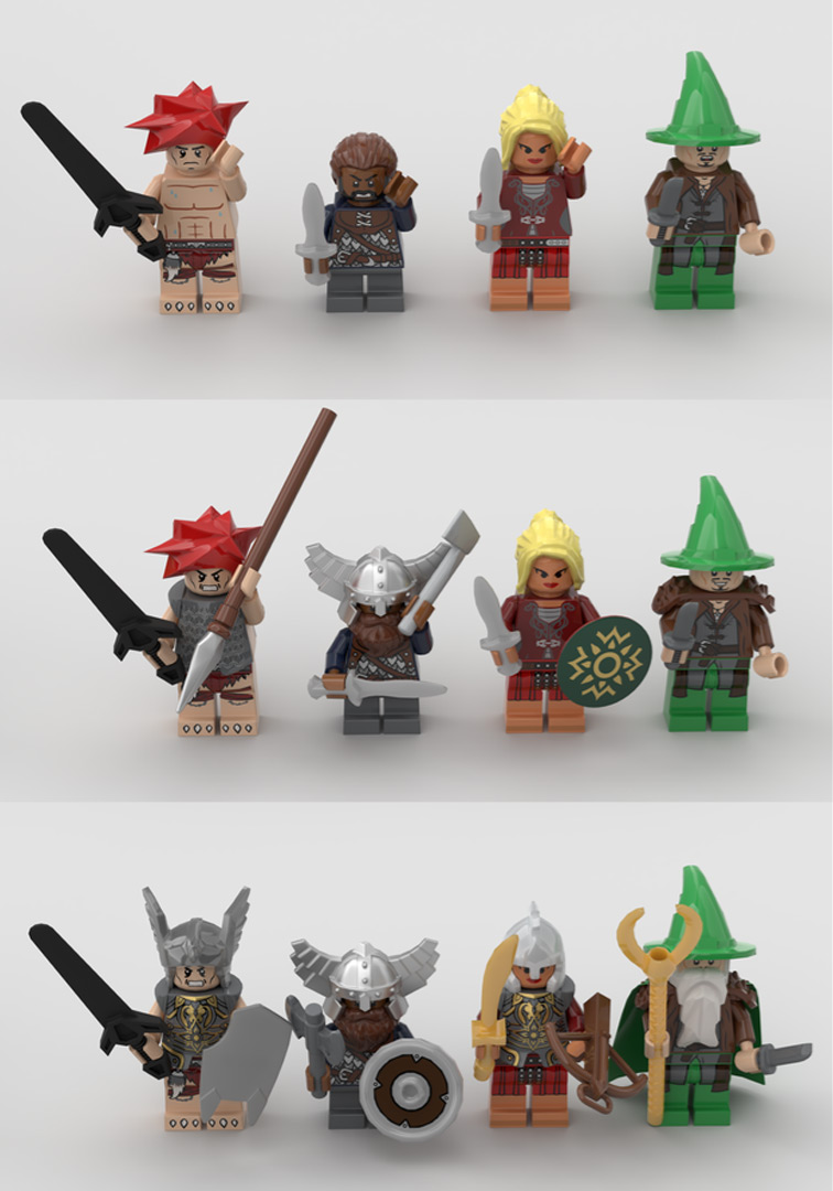 Quelle: LEGO IDEAS - Hero Quest - Helden
