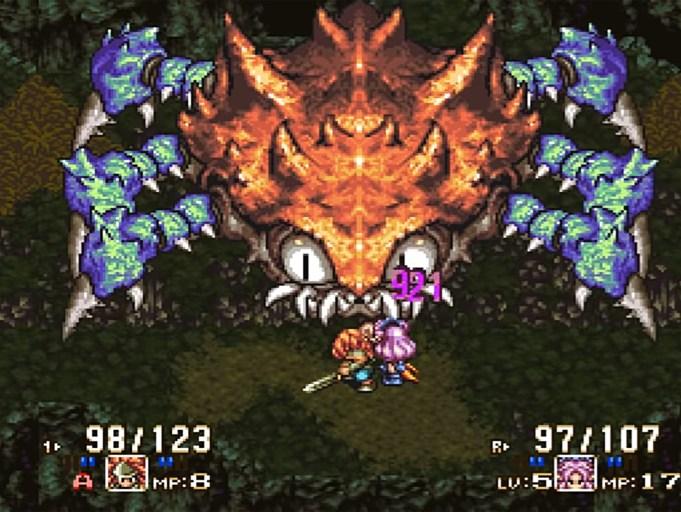 """Quelle: Square Enix - So sieht das Original """"Seiken Densetsu 3"""" aus dem Jahr 1995 aus."""