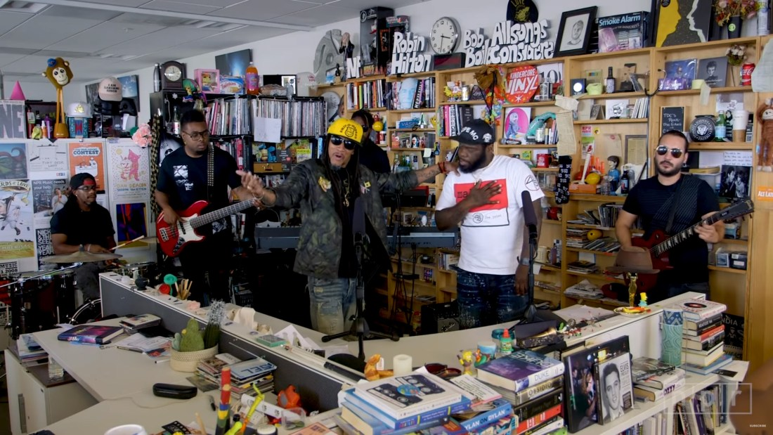 Quelle: NPR Music Tiny Desk Concert - Smif-N-Wessun