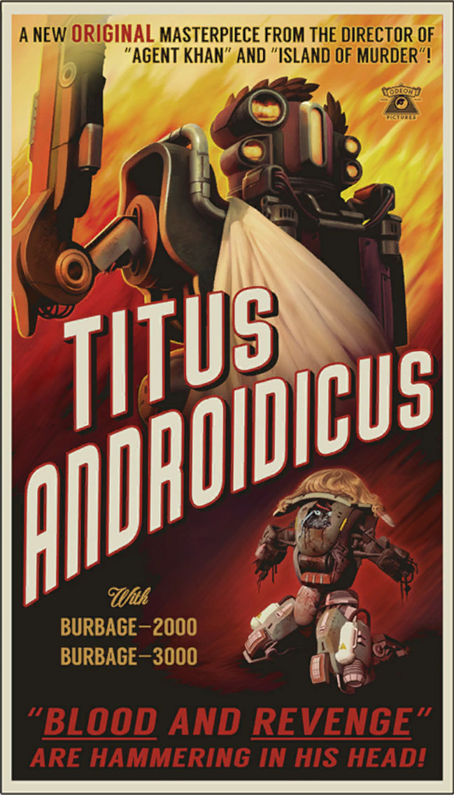 The Outer Worlds - TITUS ANDROIDICUS