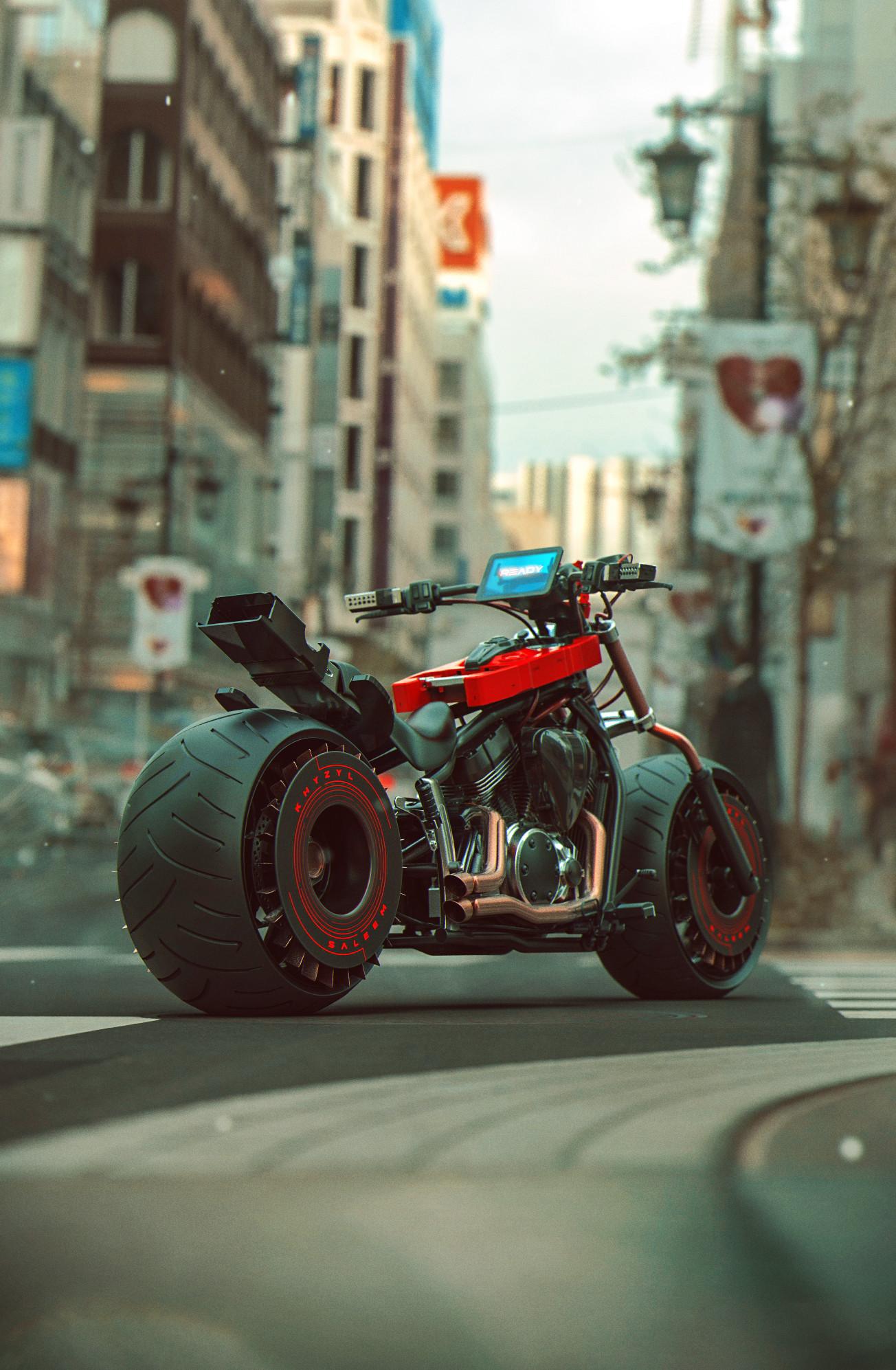 Quelle: Artstation - Khyzyl Saleem - bike-dronefinal2