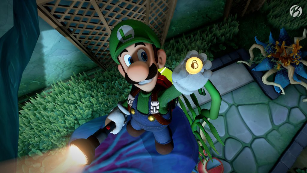 Luigi's Mansion 3 - Ökohaus Aufzugknopf 8