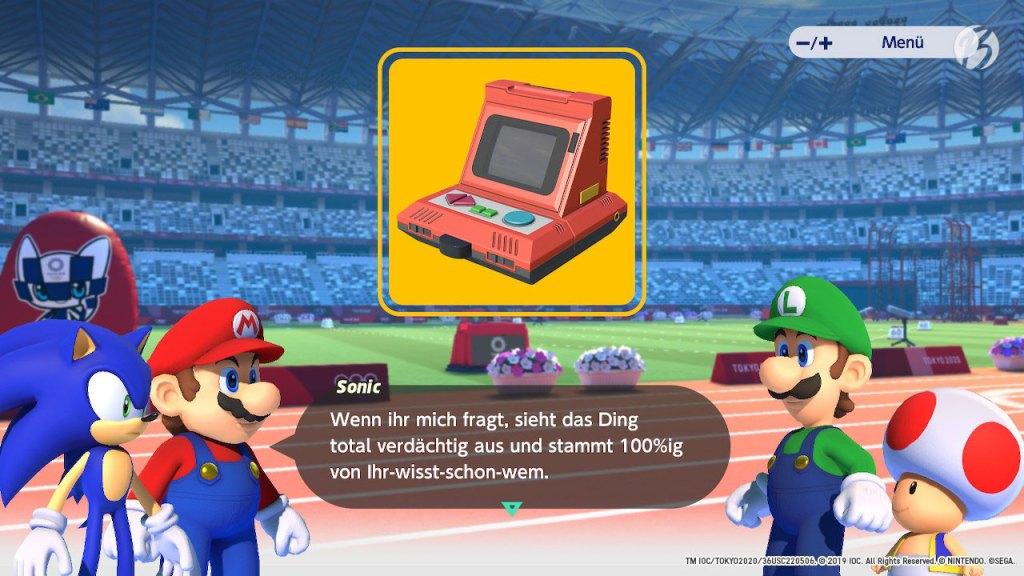 Mario & Sonic bei den Olympischen Spielen: Tokyo 2020 - Einzelspieler-Kampagne