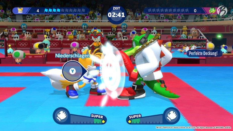 Mario & Sonic bei den Olympischen Spielen: Tokyo 2020 - Karate