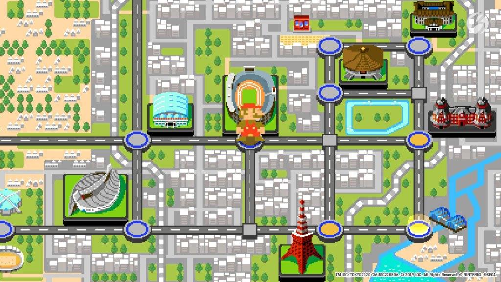 Mario & Sonic bei den Olympischen Spielen: Tokyo 2020 - Tokyo 1964 (Retro)