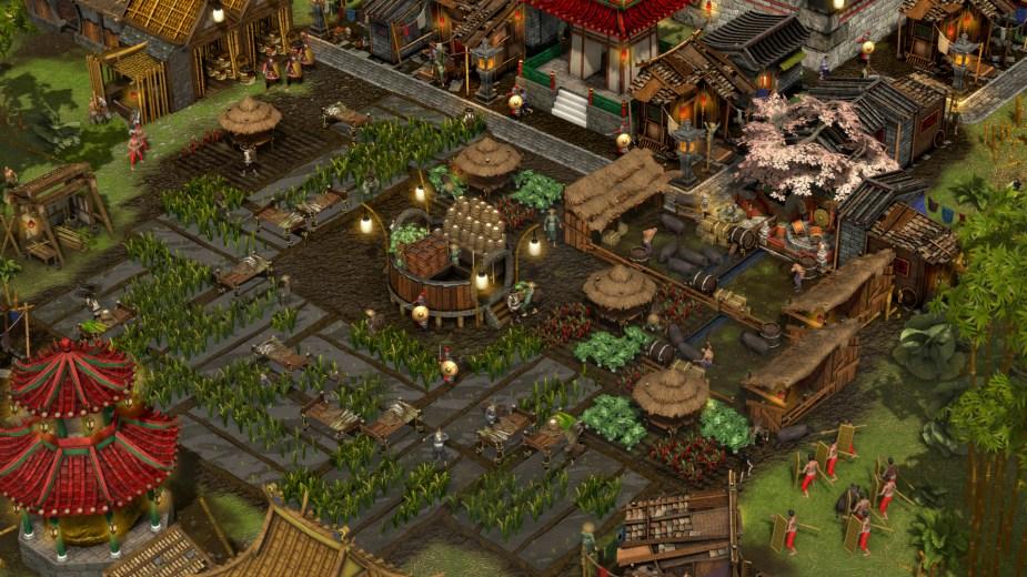 Quelle: FireFly Studios - Stronghold: Warlords - Bauern bei der Ernte