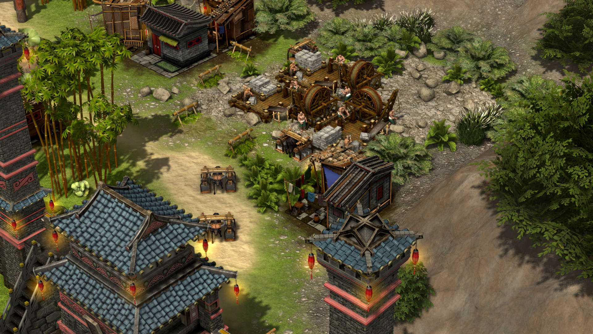 Quelle: FireFly Studios - Stronghold: Warlords - Steinbruch