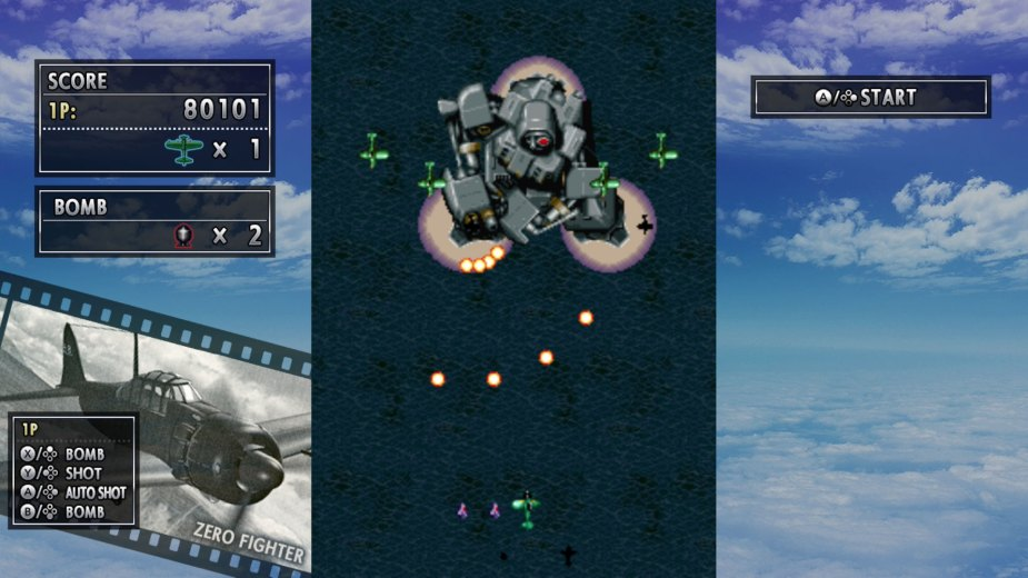 Quelle: Koch Media - Psikyo Shooting Stars Alpha - STRIKERS 1945
