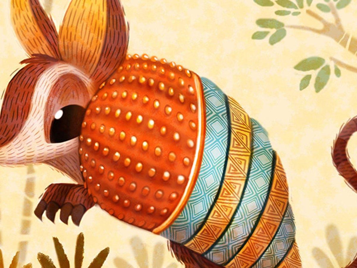 Quelle: artstation - Piper Thibodeau - Aztec Armadillo