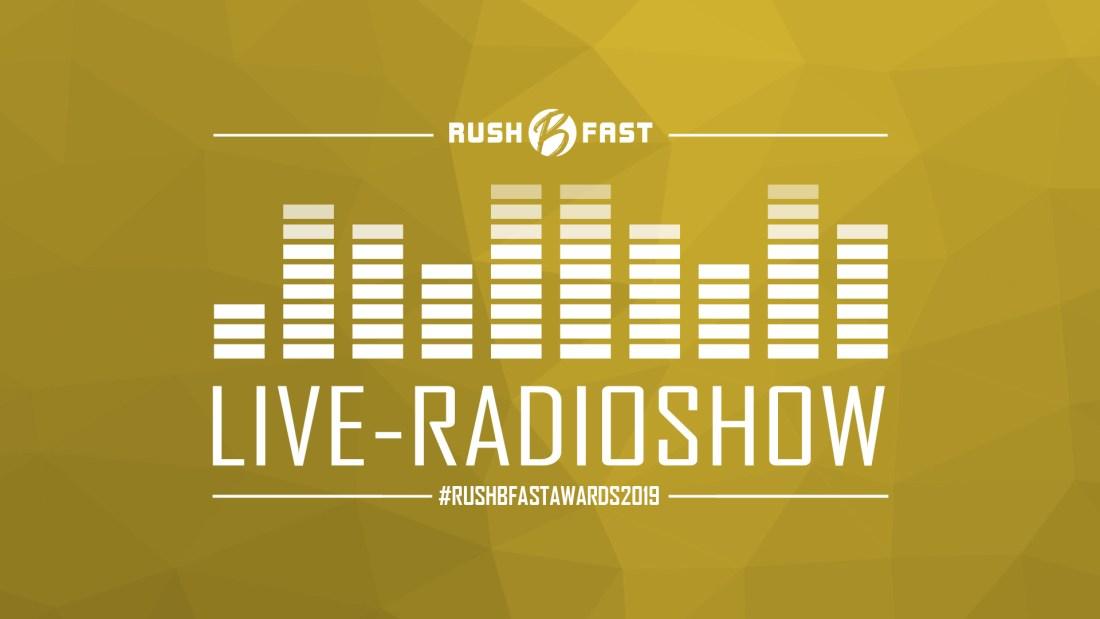 rush'B'fast - Gamers Lifestyle - Radioshow bei ZuSa - 18/12/2019