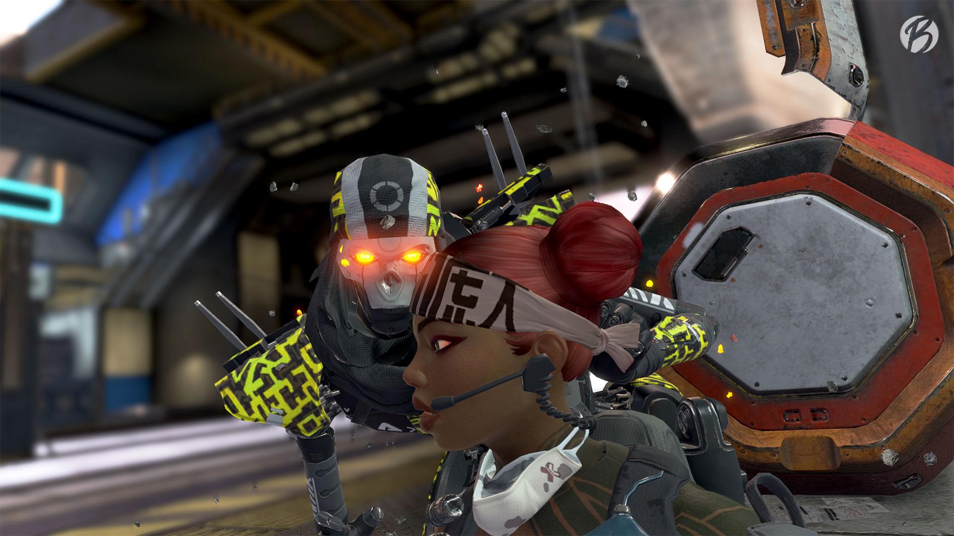 Apex-Legends - Season 4 - Revenant vs. Lifeline (Finisher)