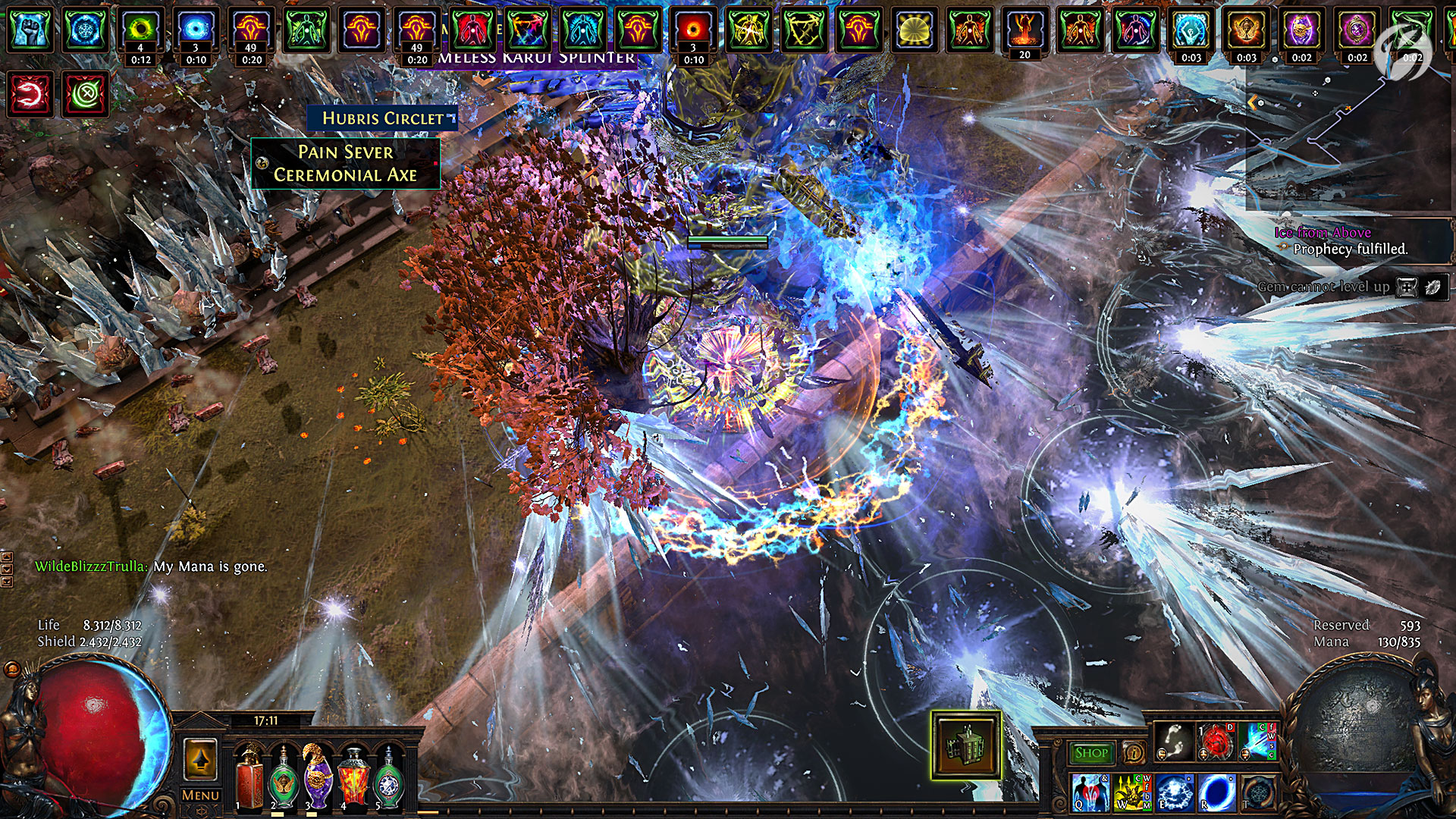 Path of-Exile - Metamorph - Headhunter Ice Shot Build