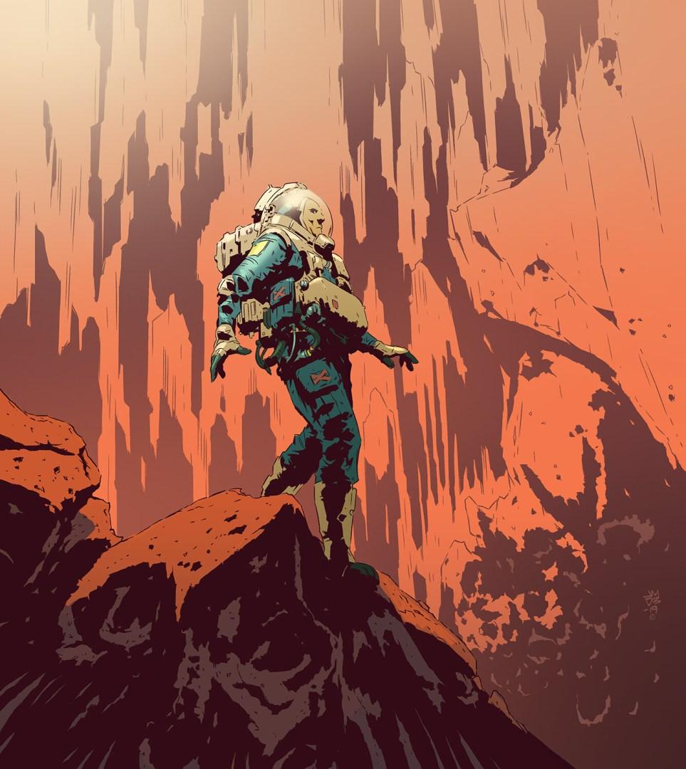 James Daly - Spacewalk