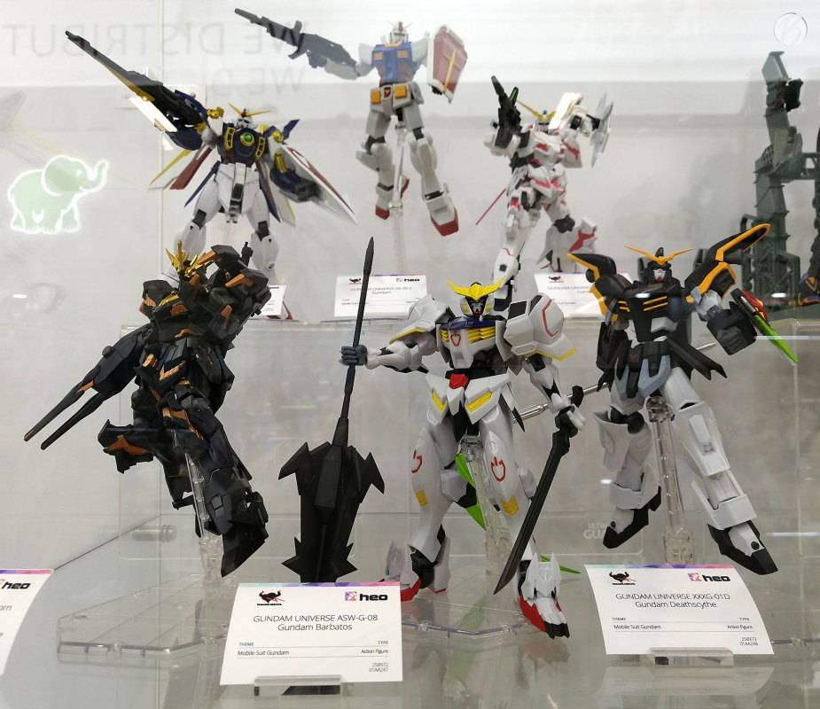 Gundam Universe Figuren (Barbatos, Deathscythe ...)