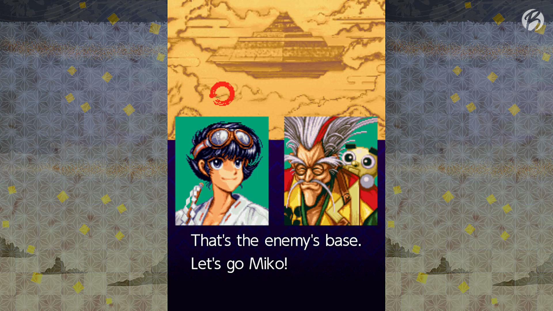 Samurai Aces Episode I - Zwischensequenz (Miko/Gadget)