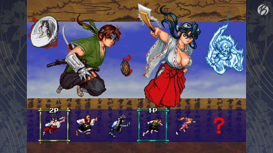 Samurai Aces Episode II: TENGAI - Charakterauswahl